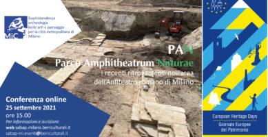 GEP – Anfiteatro di Milano – Conferenza online 25.09.2021 ore 15.00