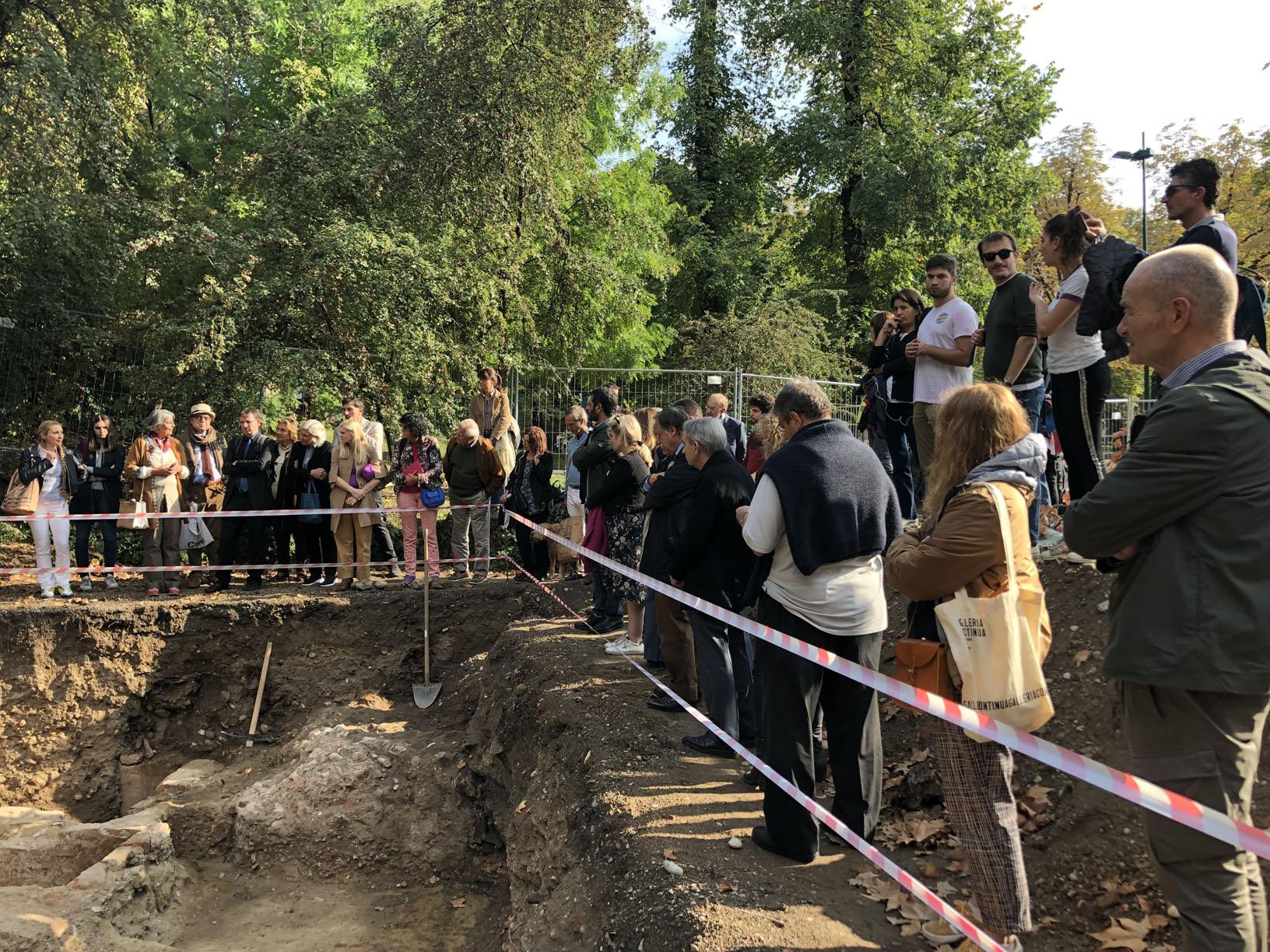 La Soprintendente illustra i ritrovamenti e gli studi sulla Chiesa di San Dionigi (8 ottobre 2019)