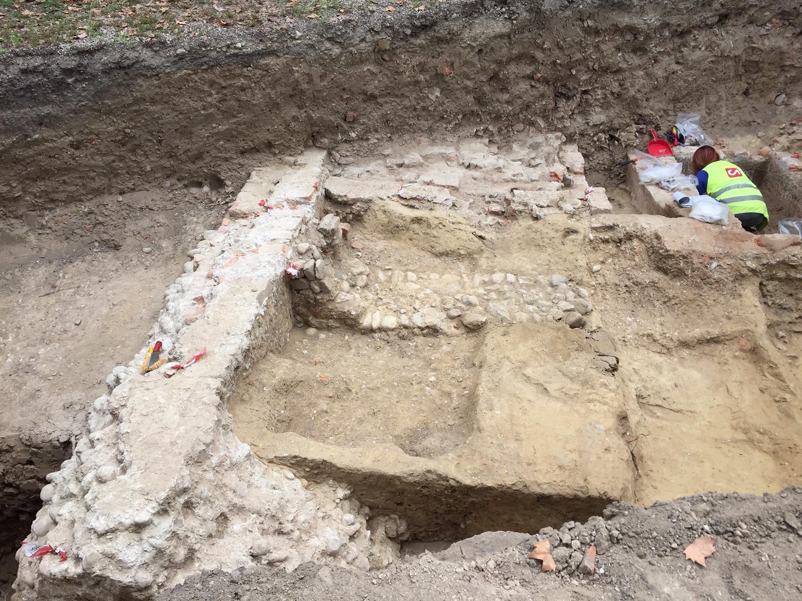 I ritrovamenti - le fasi di scavo