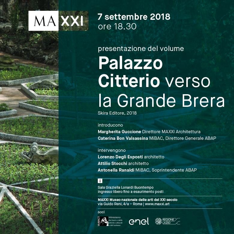 """""""Palazzo Citterio, verso la Grande Brera"""" al MAXXI di Roma"""